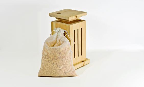Zirben - Klimabox Steinpilz mit Duftsackerl