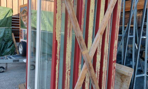7 Stk. Fenstertüren