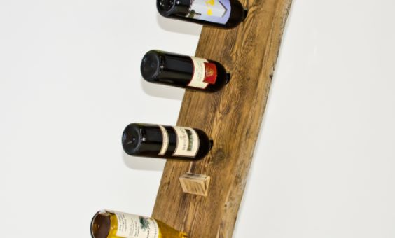 Flaschenständer Bordeaux Altholz
